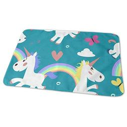 Changing Pad Unicorn Horse Baby Diaper Incontinence Pad Mat