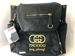 Skip Hop Chelsea Downtown Chic Diaper Backpack Bag Black ""