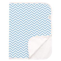 Kushies Baby Deluxe Change Pad, Terry Blue