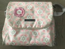 Petunia Pickle Bottom Diaper Bag And Wipe Container W/fold O