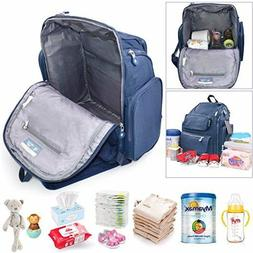 Diaper Bag Backpack Baby Changing Pad Lightweight Large Napp