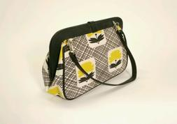 Petunia Pickle Bottom Diaper Bag Clutch White And Black With