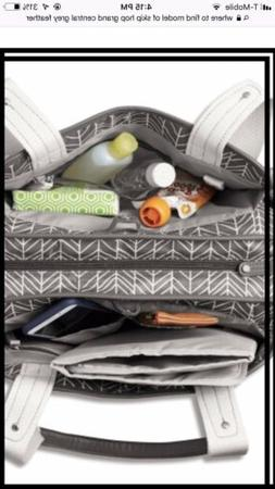 Skip Hop Diaper Bag Tote with Matching Changing Pad, Grand C