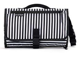 Portable Diaper Changing Pad Clutch, Travel Changer Station