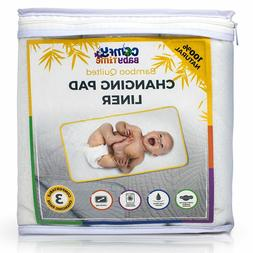 3 Soft Diaper Changing Pad Liners Extra Large Machine Washab