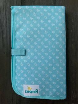 diaper changing pad new teal green large