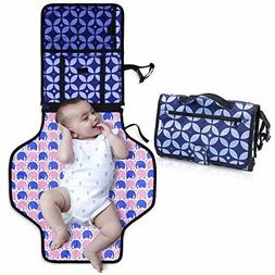 Diaper Changing Pad with Bonus Loop for Toys-Portable Diaper