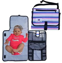 Castle Kids Co Diaper Changing Pad - Luxury Clutch Portable