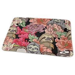 Baby Diaper Changing Pads for Infant Floral Sloth Waterproof
