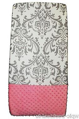 Sisi Baby Design Diaper Changing Table Pad Cover - Grey Dama
