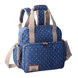 Diaper Tote Bags Nappy Diaper Changing Backpack Organizer wi