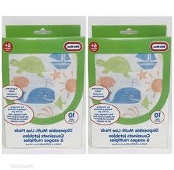 Little Tikes Disposable Multi-Use Pads, 10 Pack