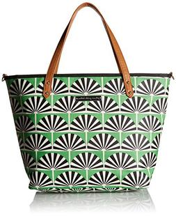 Petunia Pickle Bottom Downtown Tote, Playful Palm Springs, G