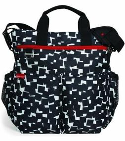 Skip Hop Duo Signature Cubes Diaper Bag!! New!!