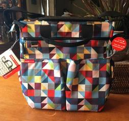 Skip Hop Duo Signature Prism Diaper Bag!! New!! Made in Neth