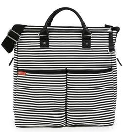Skip Hop Duo Special Edition Travel Diaper Bag Tote Black St