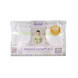 Summer Infant 5-Piece Essentials Crib Mattress, White