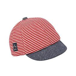 Zhengpin Fashion Striped Cotton Baby Hat Cap Adjustable Infa