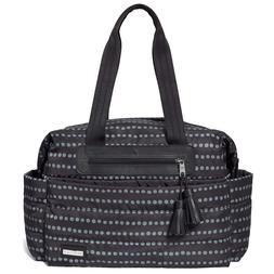Skip Hop Feather Light Diaper Bag Satchel with Matching Chan
