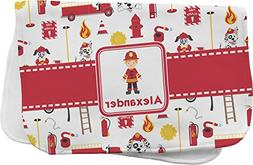 Firefighter Burp Cloth