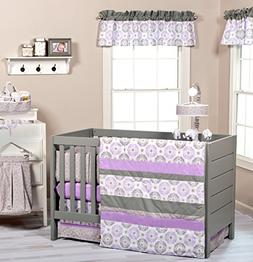 Trend Lab Florence 8-Piece Nursery Crib Bedding Set
