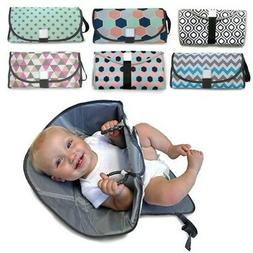 Foldable Waterproof Baby Changing Pad Toddler Diaper Mat Inf