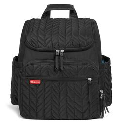 Skip Hop Forma Backpack Diaper Bag, Black, MSRP $75