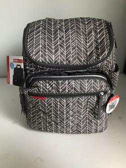 NWT SKIP HOP Diaper Bag Baby Travel Bag with Changing Pad &