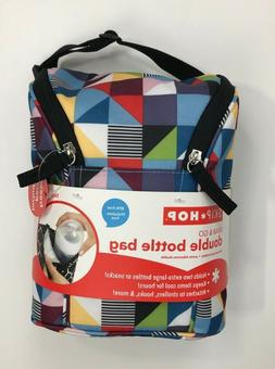 Skip Hop Grab & Go Double Bottle Bag Prism NWT Insulated Fre