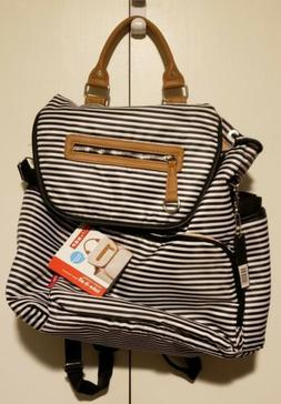 Skip Hop Grand Central Baby Diaper Bag Backpack w/ Changing