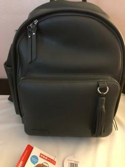 Skip Hop Greenwich Diaper Backpack - Smoke Color -  $100
