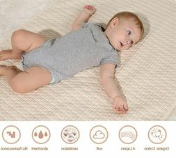 HASH Portable Baby Changing Soft Cotton Pad Liner Cover Infa