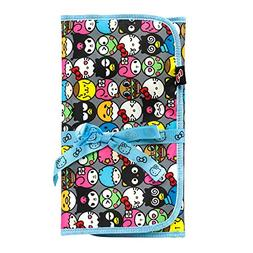 JuJuBe Lightweight Memory Foam Changing Pad, Hello Kitty Col