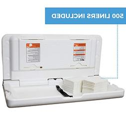 Horizontal Changing Station with 500 pads