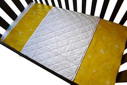 iLuvBamboo Baby Crib Waterproof Bamboo Sheet Saver - Soft Pr