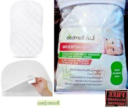 iLuvBamboo Waterproof Bassinet Pad Cover To Fit Hourglass Sw