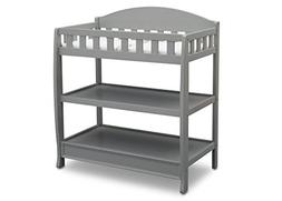 Delta Children infant Changing Table with Pad Grey