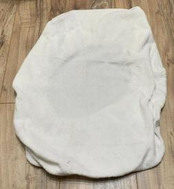 Infant Ivory SUMMER Changing Table Pad Cover w/ Belt Opening