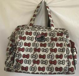 Ju-Ju-Be HELLO KITTY Be Prepared Diaper Bag Peek A Bow Compl