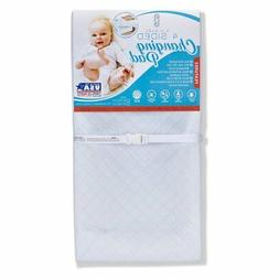 L.A. Baby Combo Pack with 4 Sided Changing Pad and Terry Cov