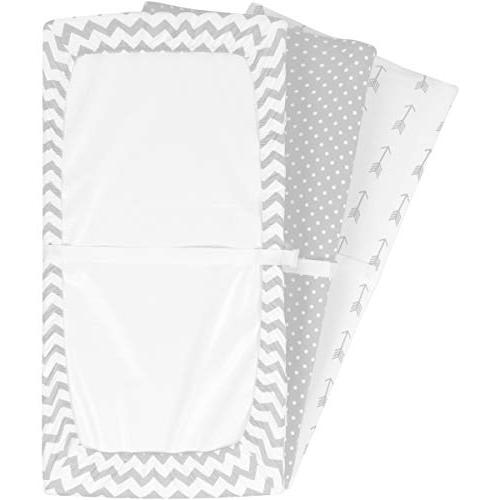 Changing | Sheets/Change Table Covers for & Soft 100% Jersey Knit Cotton | and White 150 | Pack