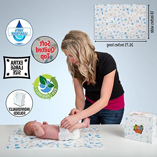 25 Baby Multi-Use Changing Pads - Super for