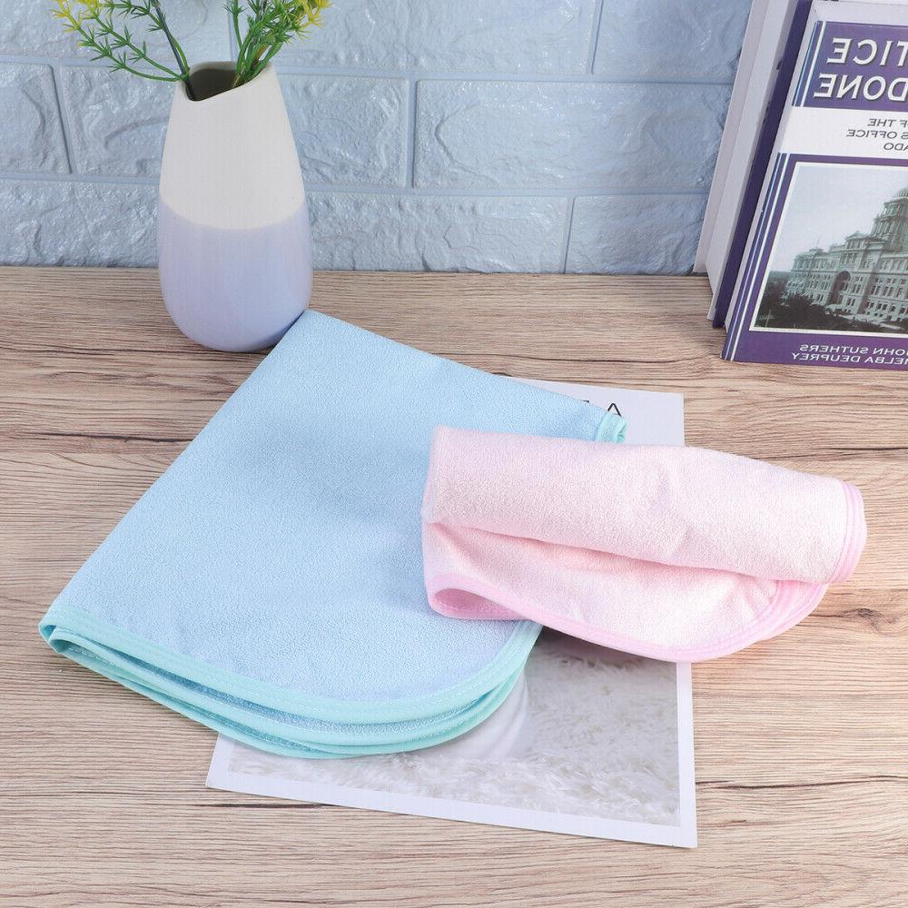 2pcs Baby Changing Waterproof Mat for