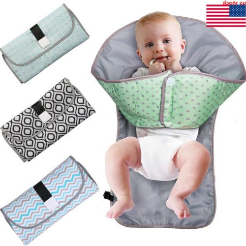 3 in 1 baby changing pad foldable