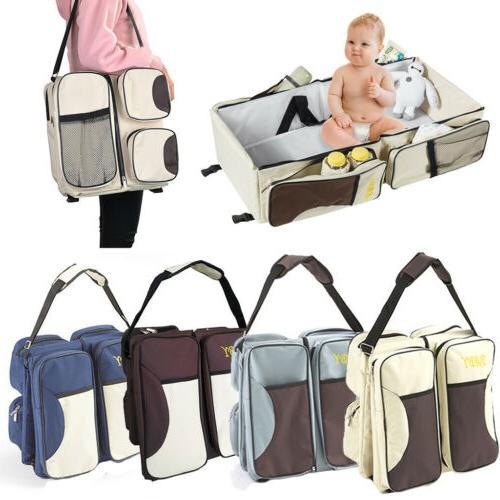 3 in 1 diaper tote bag baby