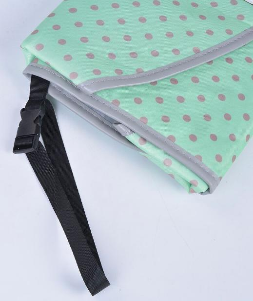 3-in-1 Portable Baby Changing Pad Waterproof Clutch - Babies Clean Hands