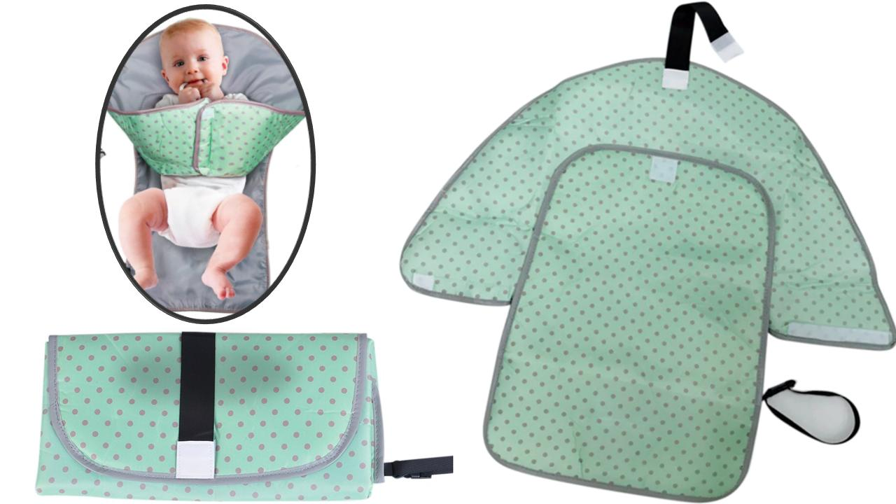 3 in 1 portable baby diaper changing