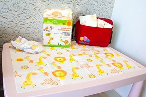 30 Pads Mats Infant Diaper Covers Station and Waterproof. Buy