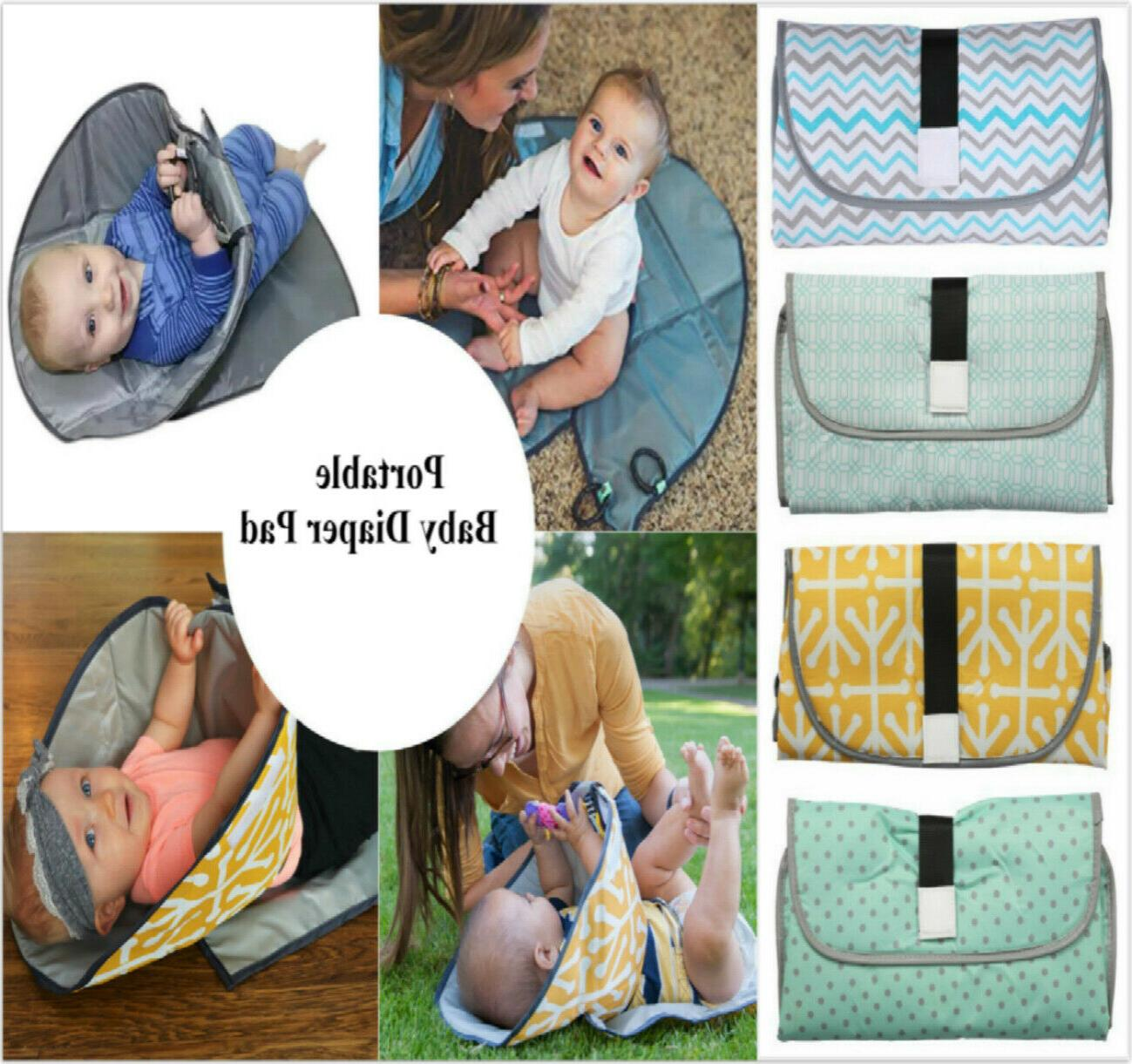 3in1 portable baby changing diaper foldable travel