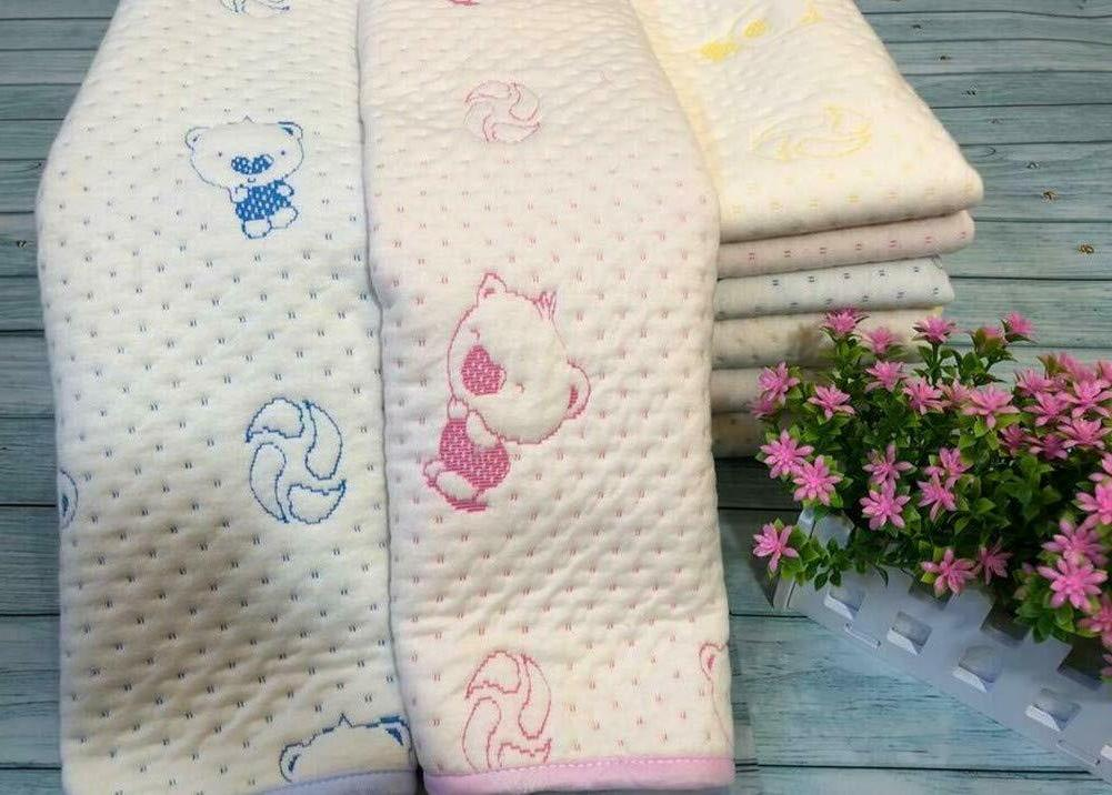 3pcs Baby Cotton Changing Pads Resuable Diapers Liners Mats